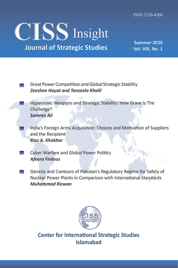 A Journal of Strategic Studies Summer 2020