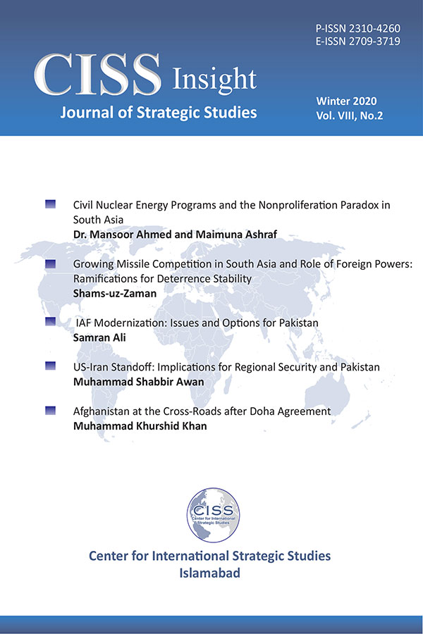 A Journal of Strategic Studies Summer 2020, CISS Insight Winter 2020